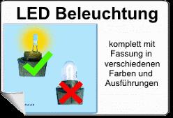 LED-Beleuchtung für Flipper