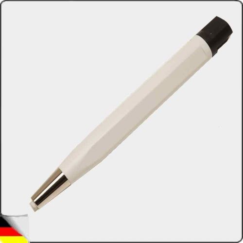 Glass fiber eraser with metal tip and glass fiber ferrule
