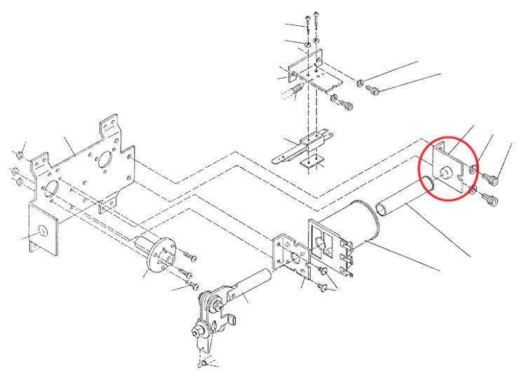flipperteile ersatzteile flipperservice flipperautomaten und videos flipper stop assembly. Black Bedroom Furniture Sets. Home Design Ideas